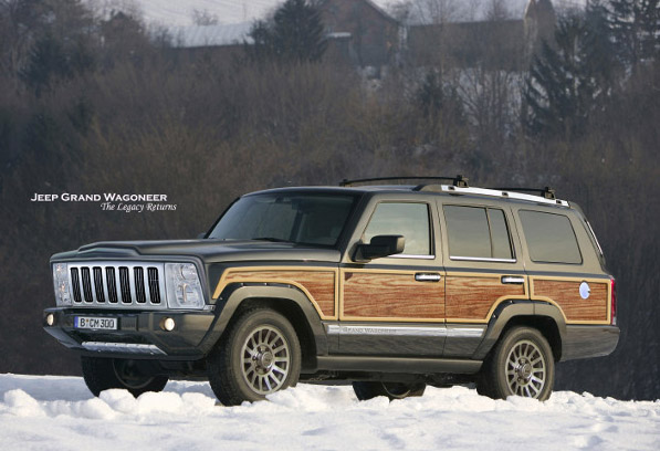 Grand Wagoneer A tribute to the best and worst vehicle ever