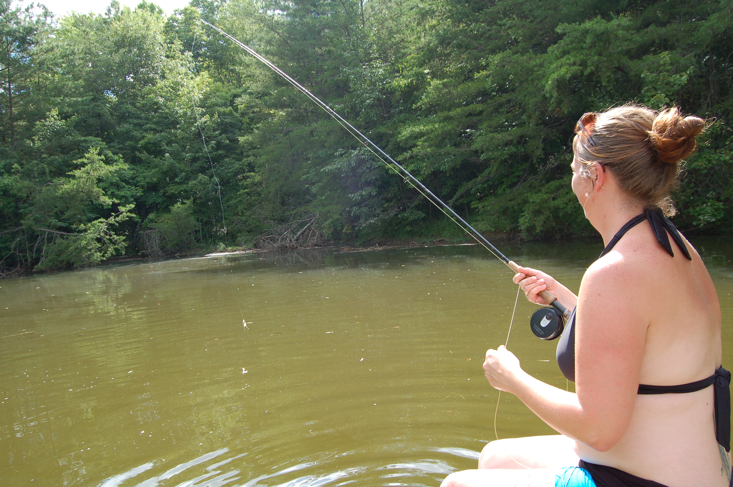 ... Fly Fishing; more Hillbilly SUP fishing pics – The Fiddle and Creel Fly Fishing Rods