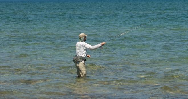 EHS_Wading_Beaver_Island_Flat_for_Carp