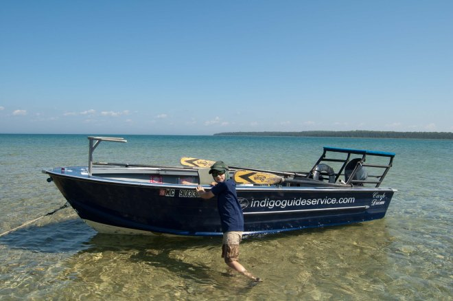 GHS_Standing_Lake_MI_Indigo_Guide_Boat